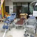 自宅に帰りたい・・・入院中で、点滴と酸素をしているIさんの外出のお手伝いをさせて頂きました。