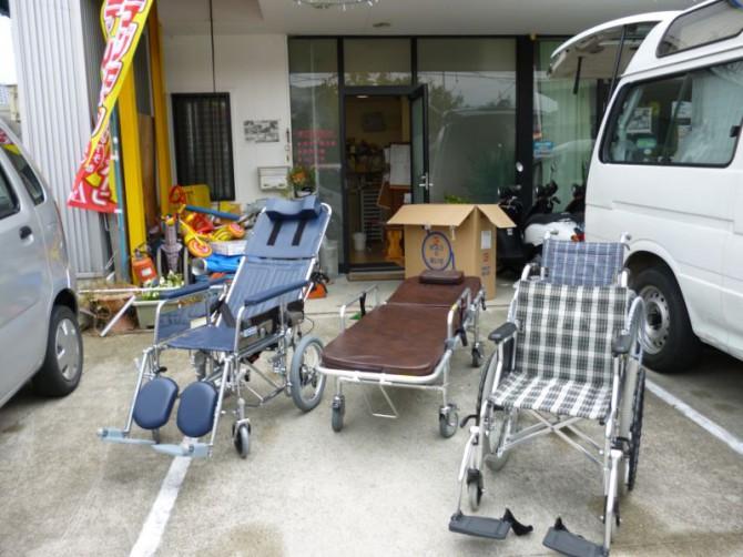 リクライニングの車いすを購入しました!
