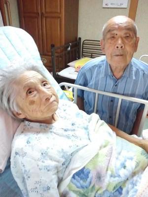 優しいおじいちゃんと、とっても元気なおばあちゃんでした