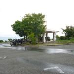 急な雨に茫然・・・雷までなっていました