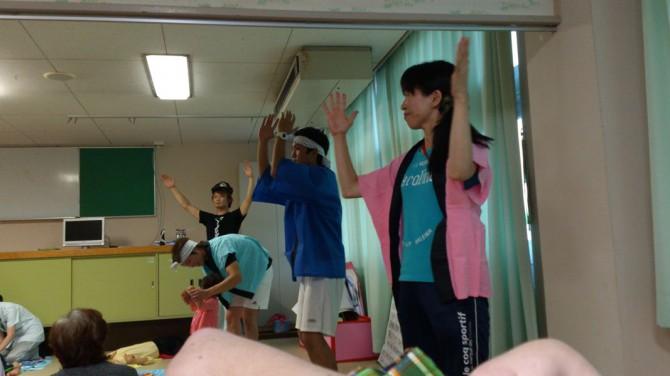 和歌山病院の若い介護職員達頑張れ!