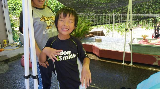 8月8日(水)今日も晴れ!今日の放課後デイサービスの子供たちの様子です