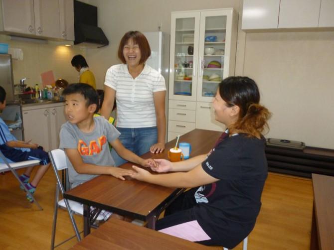 8月31日(金)夏休み最終日も晴れ!今日の放課後等デイサービスは、お手製の流しそうめんをしました。