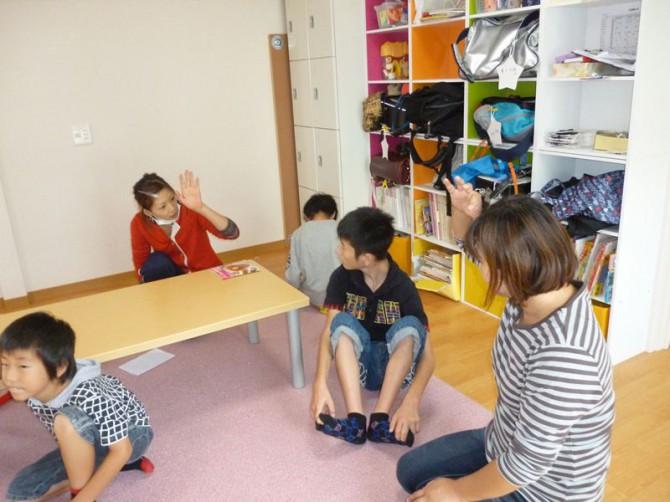10月10日(水)今日の放課後デイサービスの子供達もとっても元気です。