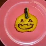 ハローウィンのかぼちゃクッキーです