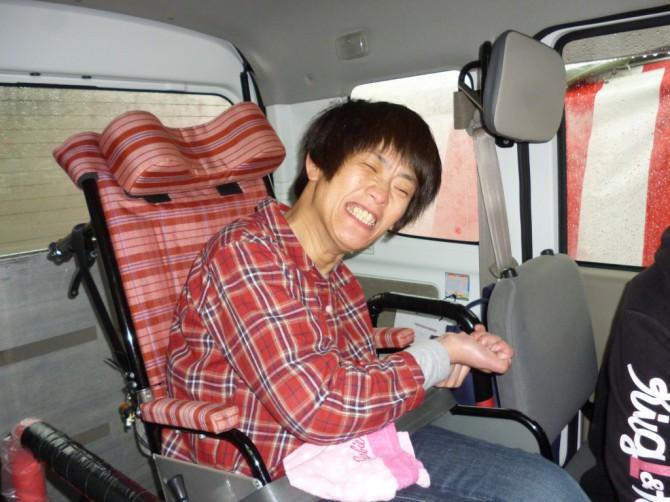 春爛漫!4月の移動支援は、有田川町清水温泉の桜まつりに行きました!