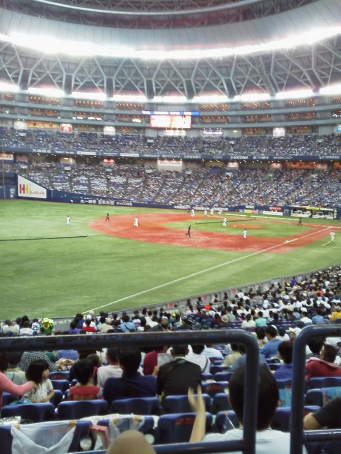 初めての野球観戦に、みんな大興奮です。5月の移動支援は、和歌山県庁からいただいた京セラドームのチケットで、オリックスの野球をまじかで観戦させて頂きました。