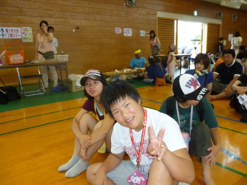 平成26年8月3日、雨の降り続く中、ふれあい夏まつりは大成功でした!