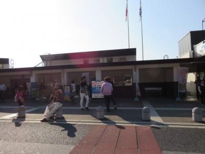 1紀ノ川サービスエリアで休憩