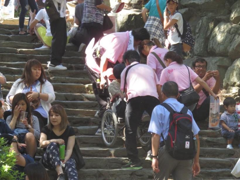 秋晴れ!9月の移動支援は 「第3回 紀州夢祭り」和歌山城に行ってきました!