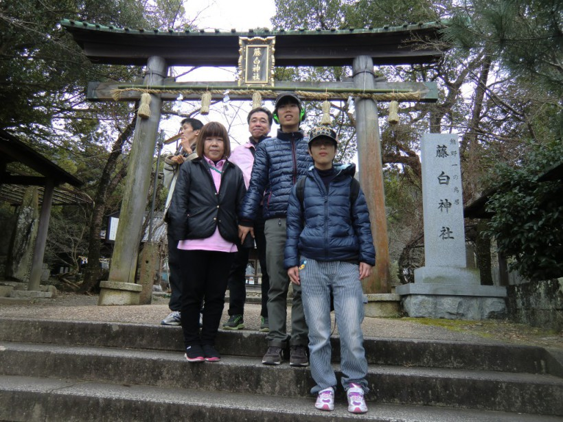 年初め!1月の移動支援は「マリ-ナシティ-・藤白神社」に行ってきました!